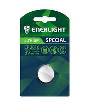 Батарейка ENERLIGHT LITHIUM CR 2016 BLI 1 (таблетка) 4823093502512