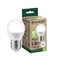 Лампа світлодіодна сфера Enerlight G45 7Вт 4100K E27