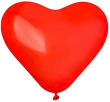 Надувні кульки дитячі шарік Серце 100 шт
