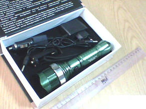 Фонарь Bailong 1LED zoom BL-8372A, фото 2