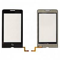 Touchscreen (сенсорный экран) для Fly E145, оригинал (черный)