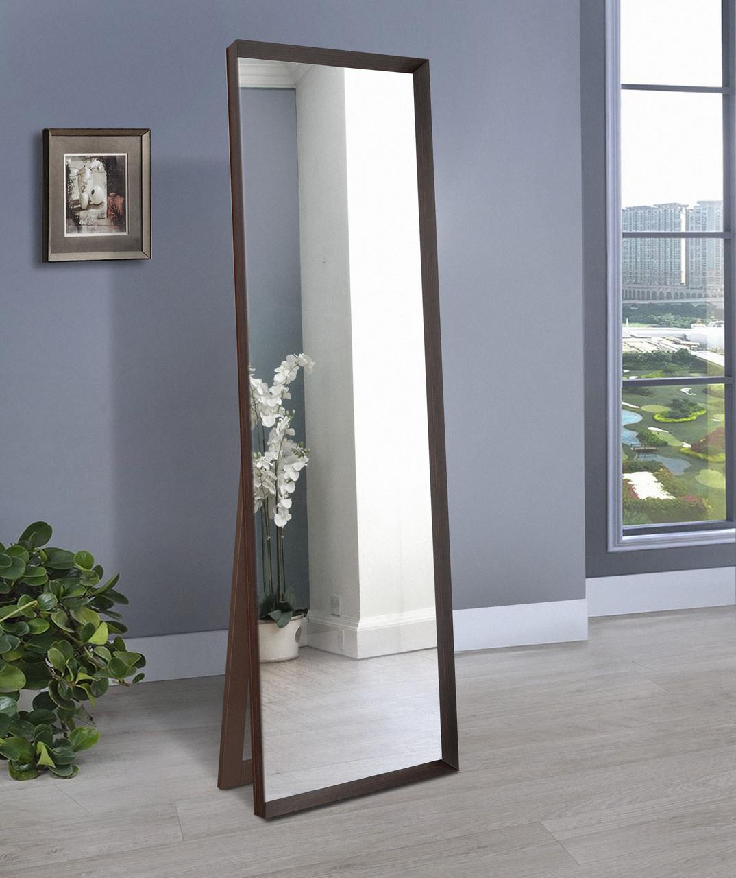 Напольное зеркало, венге 1900х600