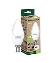 Світлодіодна лампочка Enerlight С37 9 Вт 4100K