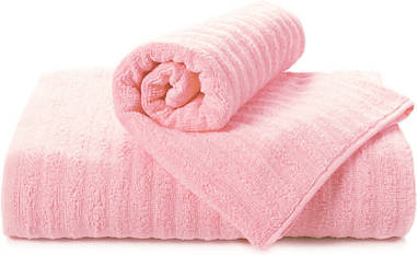 Полотенце махровое Volna розовое