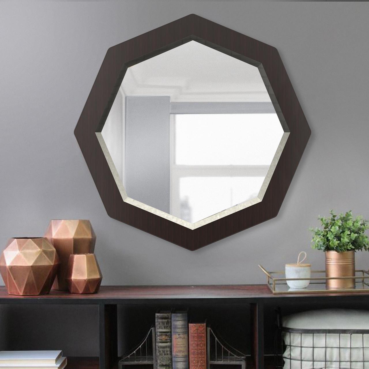 Восьмиугольное зеркало с фацетом 800 мм