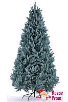 """Литая елка """"Премиум"""" (голубая) 2,1м, фото 1"""