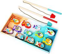 Деревянная игрушка Рыбалка / Дерев яна іграшка риболовля Cubika 13739