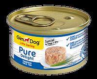 "Влажный корм Gimborn GimDog Little Darling Pure Delight ""Тунец"" 8/4 (для собак), 85 гр"