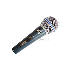 Микрофон Shure BETA 58A проводной