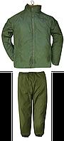 Костюм зимний реверсивный куртка и брюки ВС Великобритании Оригинал - Олива/Хаки