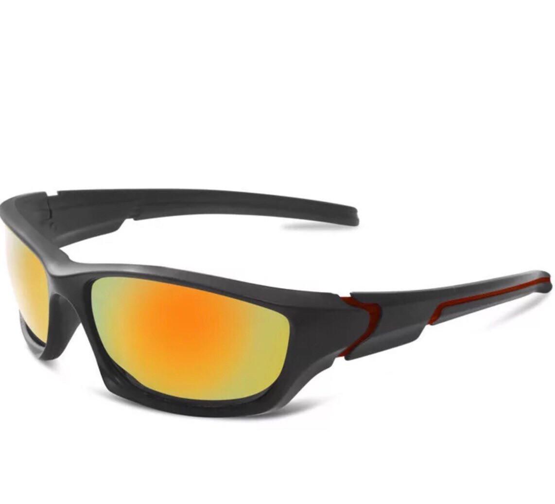 Поляризационные очки Спортивные  солнцезащитные  с защитой от ультрафиолета   + кейс твердый ( охоты, рыбалки)
