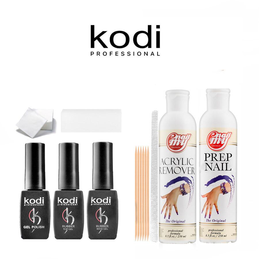Стартовий набір гель-лаків Kodi StSKd-20