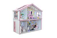 Кукольный домик Волшебный Коттедж Барби с мебелью, обоями и текстилем, фото 1