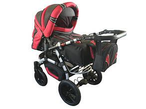 Универсальная коляска-трансформер Trans Baby Prado Lux  (перекидная ручка, комплект, цвета)