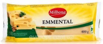 Сыр Эмменталь, Милбона полувыдержаный 45%, 400 гр