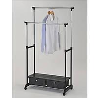 Стійка для одягу з ящиками Onder Mebli «WCH-4793» Чорний