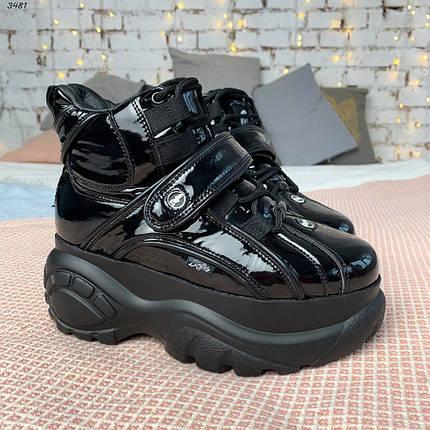 Черные лакированные ботинки, фото 2