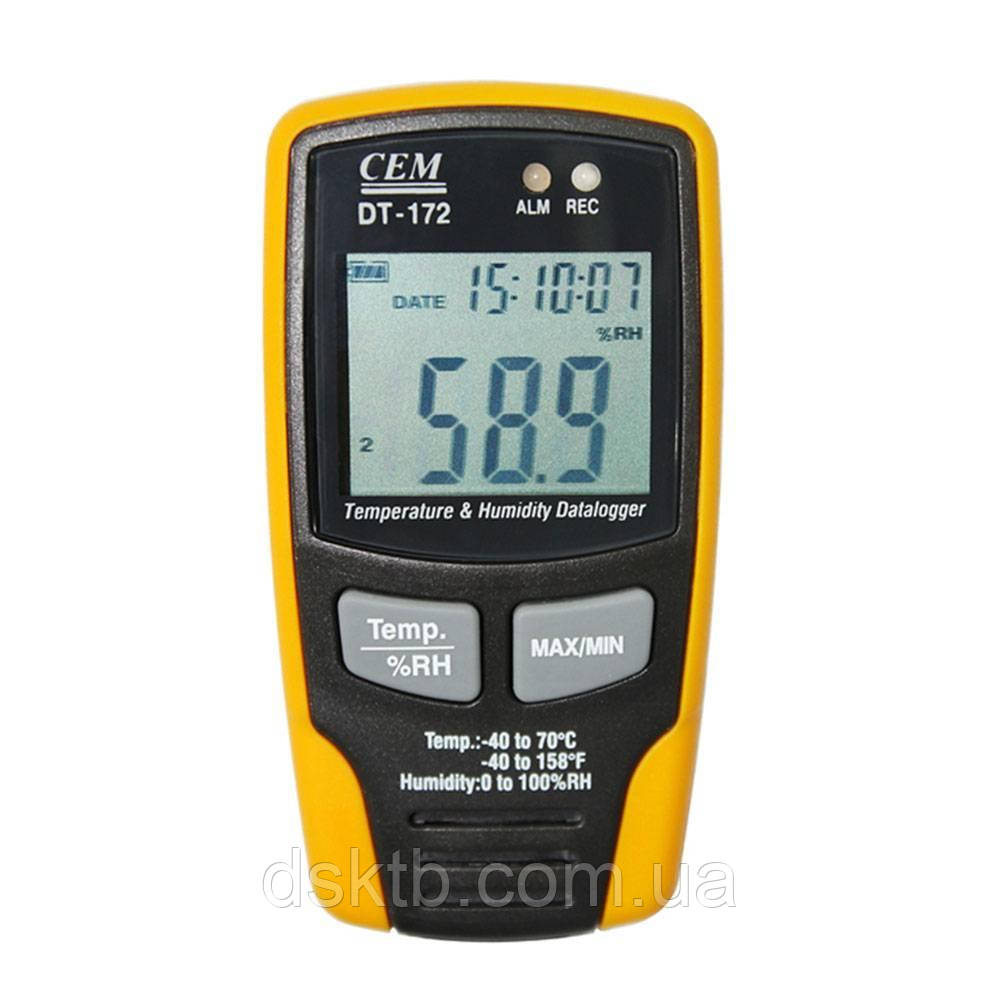 Термогигрометр DT-172 C.E.M.