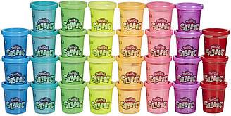 Play-Doh Slime 5 шт. на выбор разные цвета радуги для детей Плей-До Слайм