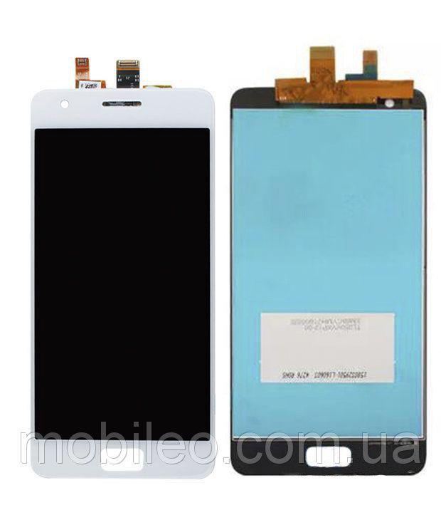 Дисплей (LCD) Lenovo Zuk Z2 | Z2 Plus | Z2131 с тачскрином, белый ориг. к-во