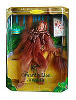 Коллекционная кукла Барби Кен Волшебник страны Оз Трусливый Лев Barbie Cowardly Lion The Wizard of Oz Mattel, фото 1