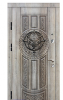 """Двері металеві Преміум"""" БП-61 960мм ліві,пат.кор+бронза"""