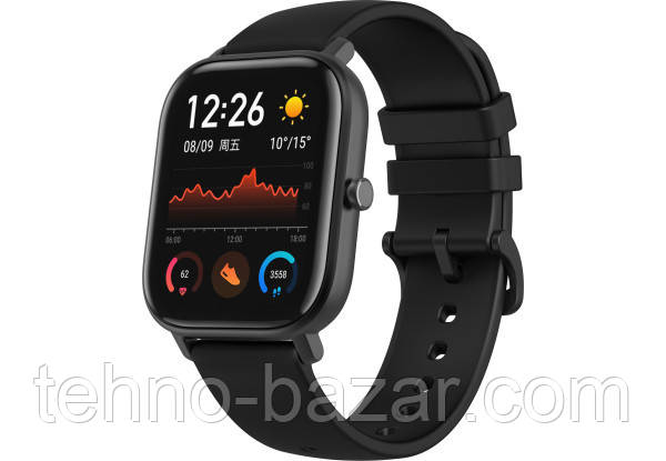 Умные часы Smart Watch Xiaomi Amazfit GTS Black Global Version