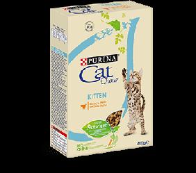 Корм Cat Chow Kitten Кет Чау Кіттен з куркою 400 г