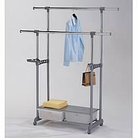 Стійка для одягу з ящиками Onder Mebli «СН-4578» Сірий