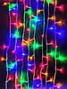 Новогодняя светодиодная гирлянда LED LIGHT 500 ламп 30 м ЦВЕТНАЯ (мультиколор), фото 4
