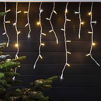 "Гирлянда светодиодная уличная ""Бахрома"" 3 х 0,6 м, 120 LED Premium Light (мерцание Flash)"