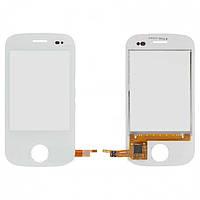 Touchscreen (сенсорный экран) для Fly E181, оригинал (белый)