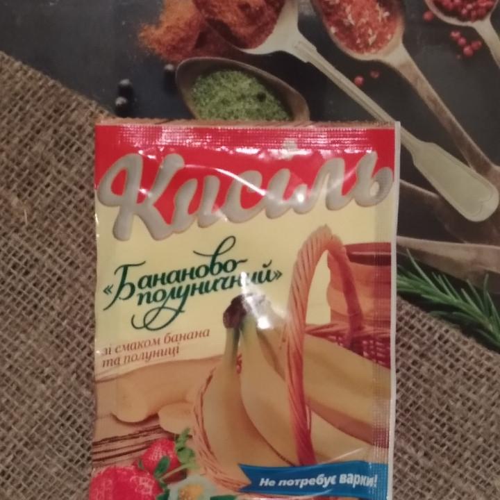 """Кисель банан-клубника """"Жасмин"""" 65 гр"""
