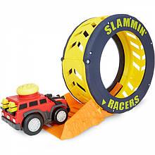 Машинка с кольцом для трюков Slammin 'Racers Little Tikes 649509