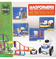 Детский магнитный трек конструктор LQ644/45