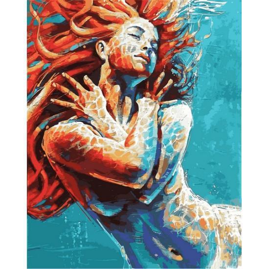 Картина по номерам В воде, 40x50 см., Babylon