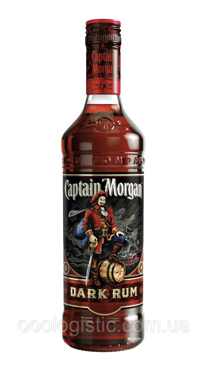 Ром Captain Morgan Dark 1л. 40%duty free