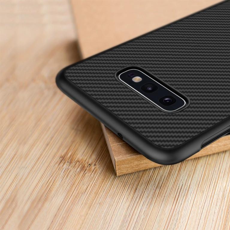 Карбоновый чехол для Samsung Galaxy S10e Nillkin Synthetic Fiber