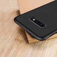 Карбоновый чехол для Samsung Galaxy S10e Nillkin Synthetic Fiber, фото 1