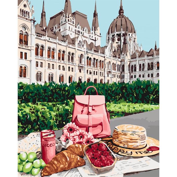 Картина по номерам  Королівський сніданок, 40x50 см., Идейка