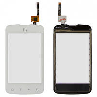 Touchscreen (сенсорный экран) для Fly IQ238 Jazz, оригинал (белый)