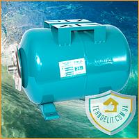 Гидроаккумулятор горизонтальный 24 литра Aquatica 779121. Гидроаккумулятор для водоснабжения.