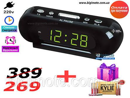Электронные часы,настольные часы,часы настольные,часы электронные, с подсветкой, vst716s, фото 2
