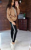 Спортивный костюм теплый трикотажный на флисе(42-44)(44-46)