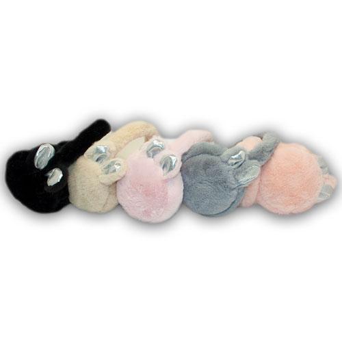 ОПТ Меховые наушники для девочек (6шт/набор)