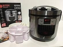 Мультиварка 6,0 л 860Вт 45 програм йогуртниця BITEK BT-00045 (4 шт/ящ)