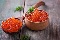 Красная лососевая икра