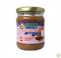 """Арахисовая паста с черным шоколадом и мятой, 250 грм. ТМ """"Good Energy"""""""