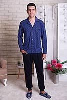 Пижама мужская на пуговицах Класика
