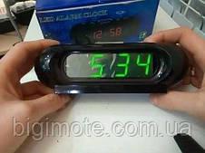 Электронные часы,настольные часы,часы настольные,часы электронные, с подсветкой, vst716-2, фото 3